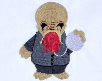 Cute Ood machine embroidery design 4x4