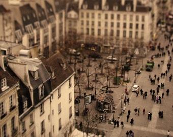 "Original Photograph ""Tiny Parisians"" by J. Ensley (6"" x 6"")"