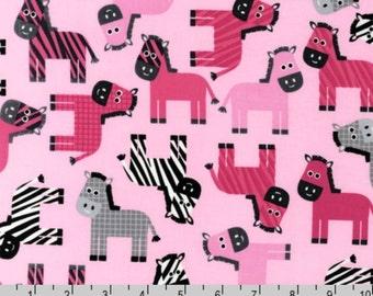 Urban Zoologie - Pink Zebra Donkey by Ann Kelle from Robert Kaufman