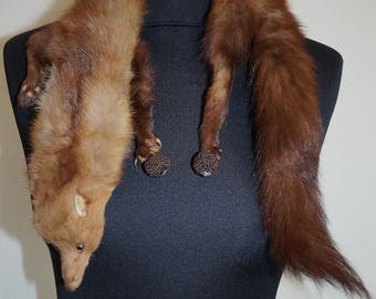 Mink Vintage fur Collar/Shawl 1930s made