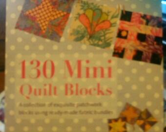130 Mini Quilt Blocksby Susan Briscoe - Free Shipping