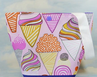 Ice cream small project bags