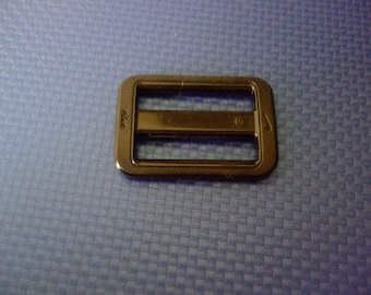 Rectangular busy sliding adjustable clasp - 23 mm x 34 mm