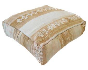 Moroccan Floor Cushion  - 56 - '23.6 x 23.6 x 7.9 inch''