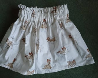 Baby girl toddler flared skirt