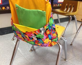 Kindergarten/Preschool Seatback Pocket