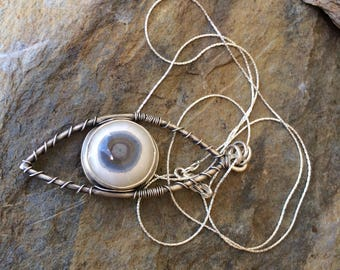 Agate Hidden Pentagram Necklace