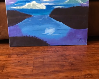 16x20 Purple Night