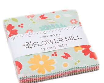 Flower Mill (29030PP) by Corey Yoder - Charm Pack