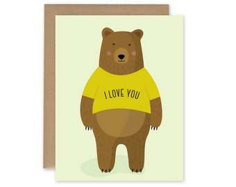 I Love You THISSSSS Much - Valentines Day Card, Mothers Day Card, Anniversary Card