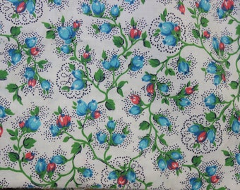 Cotton Fabric unused yardage  1 yard 36 inch width 3 yards available VINTAGE by Plantdreaming