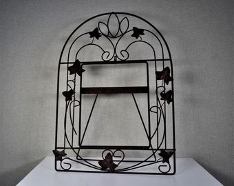 8x10 Frame Metal Wire Arched Design with Optional Glass and Custom Cut Matting