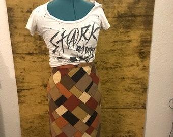 Vintage 1960s/70s Patchwork Skirt