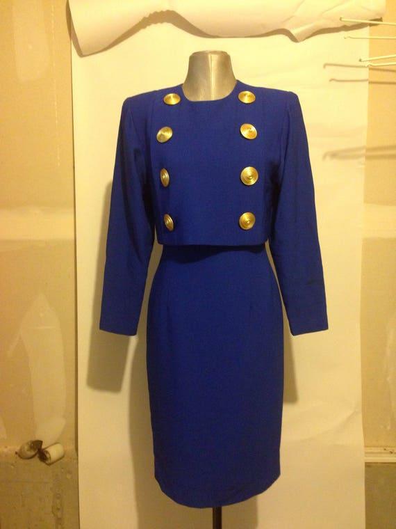 Vintage 80's Designer Dress