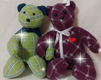 Memory Bear Pattern (6 piece pattern)