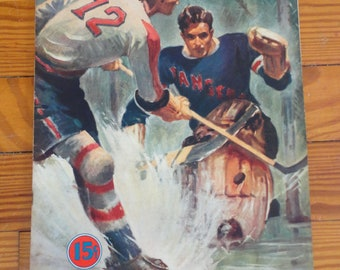 MSG Hockey Magazine 1941