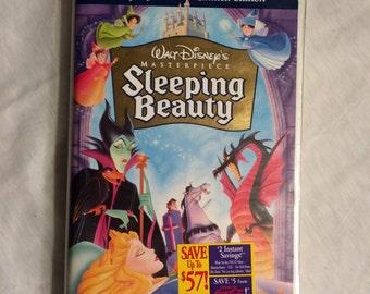 Walt Disney's Sleeping Beauty VHS, 1997, Limited Edition