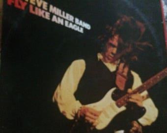 Steve Miller band fly like an eagle vinyl record