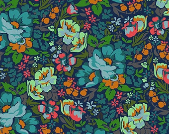 Anna Maria Horner Floral Retrospective PWAH083 Overachiever Mystery Fabric By Yd