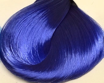 Nylon Doll Hair, Deluxe OOAK, Forget Me Not Tress, Rerooting