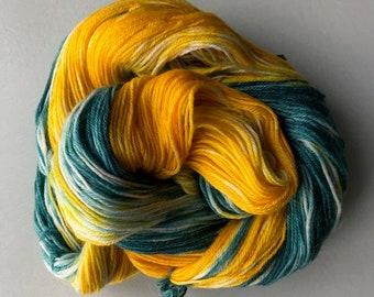Handdyed Yarn, Gradient yarn, Speckled yarn