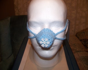 Snowflake Nose Warmer