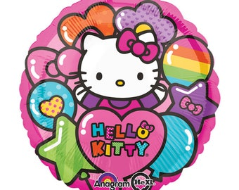 "17"" Hello Kitty foil balloon party"