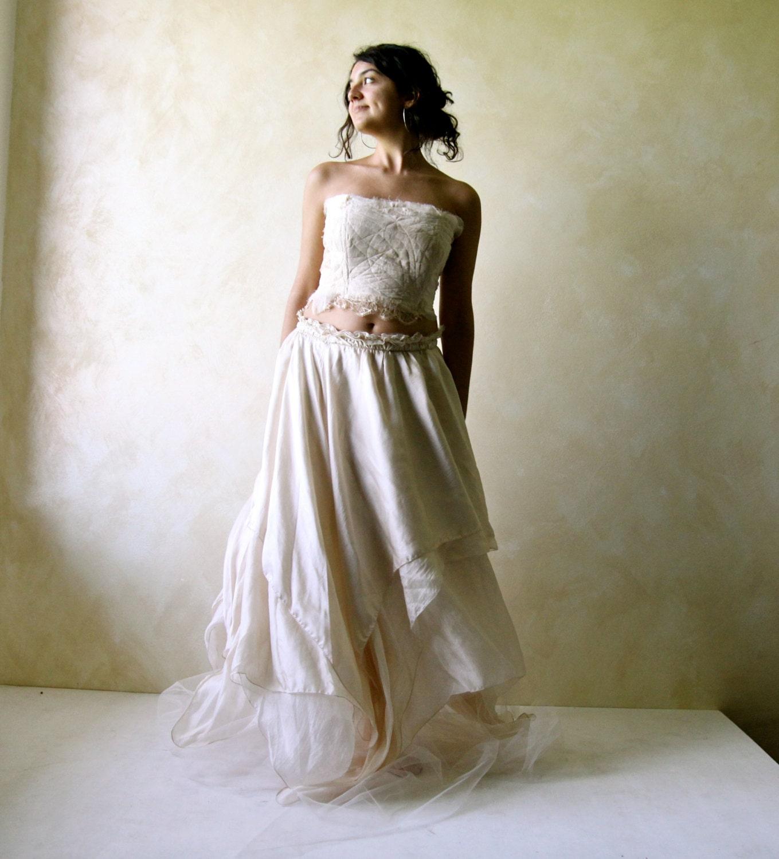 Boho wedding dress fairy wedding dress hippie wedding dress zoom junglespirit Image collections