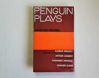 Absurd Drama - 1965 - Penguin Plays - Paperback book - Second hand books