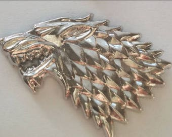 House Stark Left Facing 3D Pin Game of Thrones