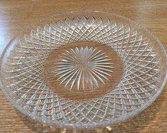 Edwardian Antique cut glass dish