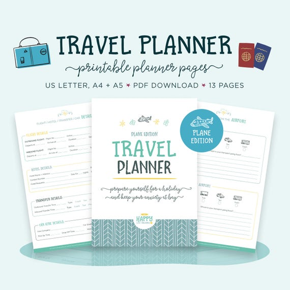 trip planner vacation