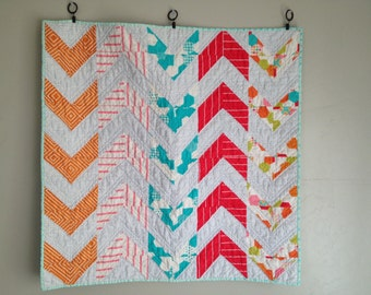 Arrow/sewing pattern/quilt pattern pdf/patterns/modern quilt pattern/baby quilt pattern/easy quilt pattern/Homemade quilt/Quilting bundle
