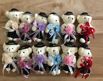 Party Favors ~~Set of 12 Teddy Bear, Baby shower ,Bear measures approximately 4.5 inches~~2 Dollars Each