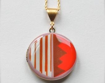 "Art Locket Alyson Fox ""Candy"" Necklace"