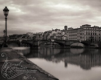 The River Arno - Photographic Print of Italian River in Florence