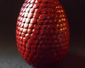 CLEARANCE: Large Maroon Dragon Egg