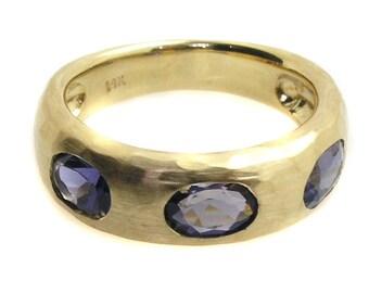 Iolite Ring .