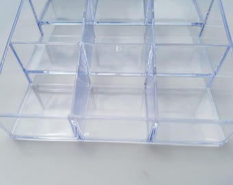 Acrylic product display, 3x3, 5 inches