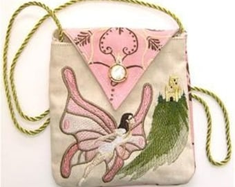 Mystic Fairy Embroidered Purse