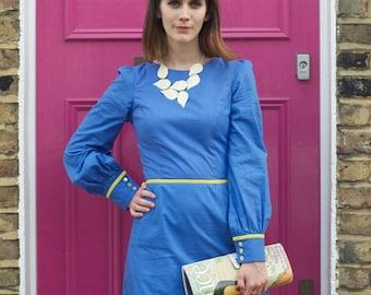 Organic clothing, Fair trade Cotton, Joanie Long Sleeved Dress