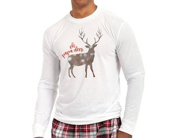 Personalized Matching Family Christmas Pajama Set, Adult & Youth Sizes