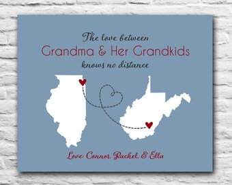 gift for grandma long distance grandparents grandmother gift for mother in law christmas