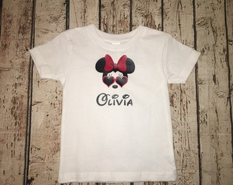 Baby or Toddler Minnie Mouse Shirt, Disney Shirt, Family Disney Shirt, Kids Disney Shirts