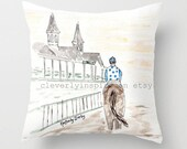 Dawn at Downs, Pillow, De...