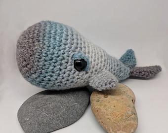 Handmade Crochet Whale plush