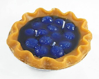 Scented Blueberry Pie Candle
