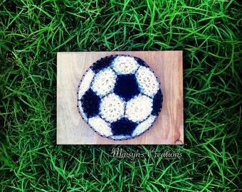 Soccer Ball String Art | MADE TO ORDER