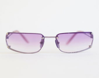 90S SQUARE PURPLE sunglasses, perfect for spring summer / festival / 90's / square / rave / raver / club-kid / club kid / clubkid / techno