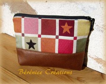 Small retro pouch